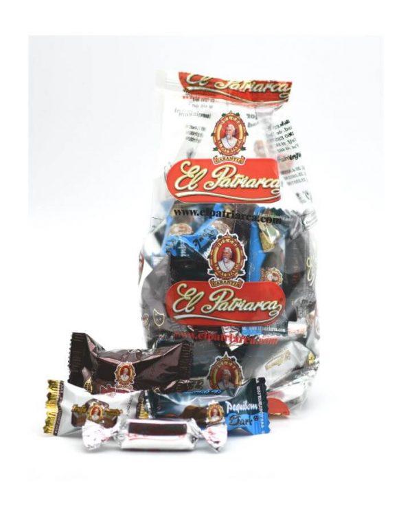 comprar surtido bombones de chocolate negro bolsa 400 gr el patriarca valencia